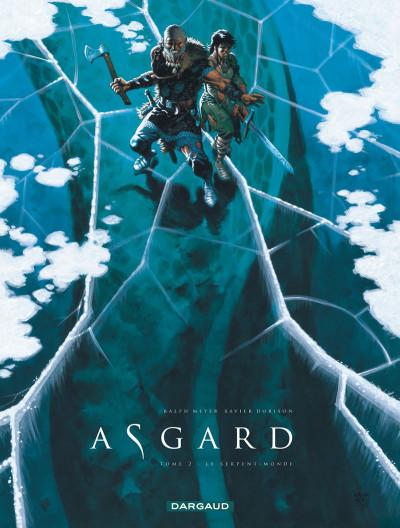 Couverture Asgard tome 2 - pied de fer - le serpent-monde
