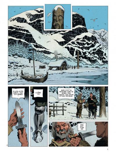 Page 5 Asgard tome 2 - pied de fer - le serpent-monde