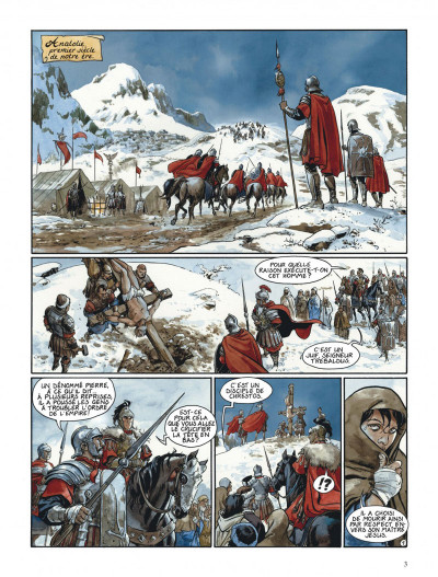 Page 3 Le scorpion tome 3