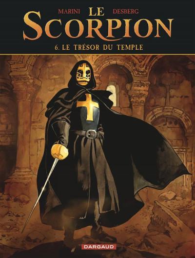 image de le scorpion tome 6 - le trésor du temple