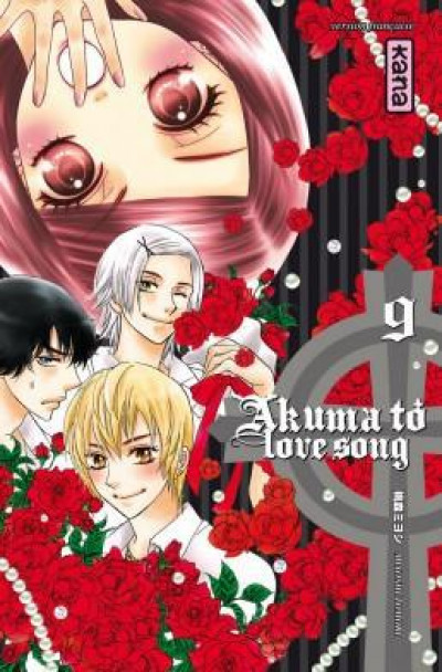 Couverture Akuma to love song tome 9