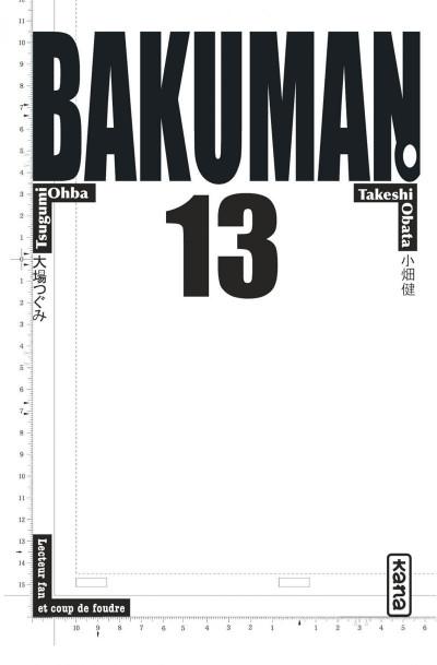 Page 3 Bakuman tome 13