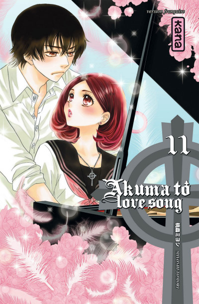 Couverture Akuma to love song tome 11