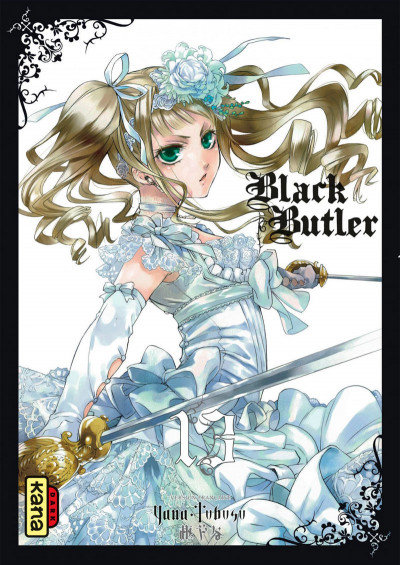 Couverture Black butler tome 13