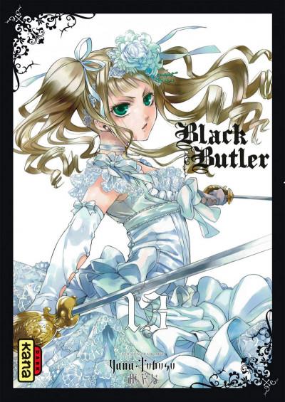 Couverture Black butler tome 13