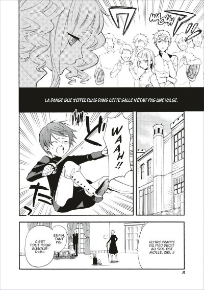 Page 8 Black butler tome 13