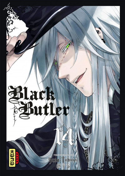 Couverture black butler tome 14