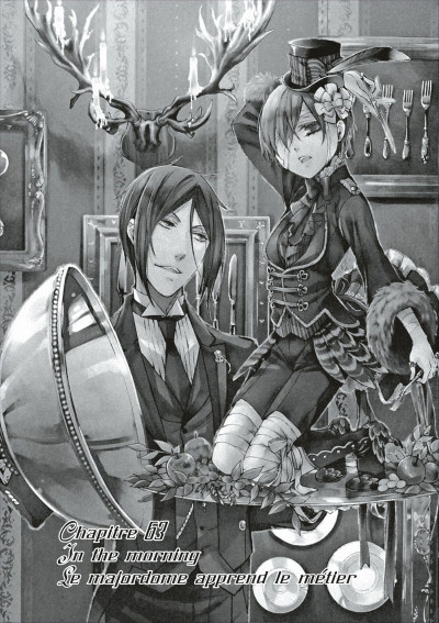 Page 3 black butler tome 14