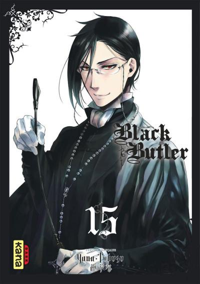 Couverture Black Butler tome 15