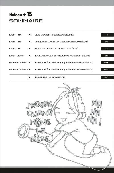 Page 2 Hotaru tome 15