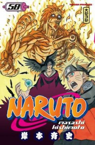 Couverture Naruto tome 58