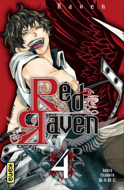 Couverture Red raven tome 4