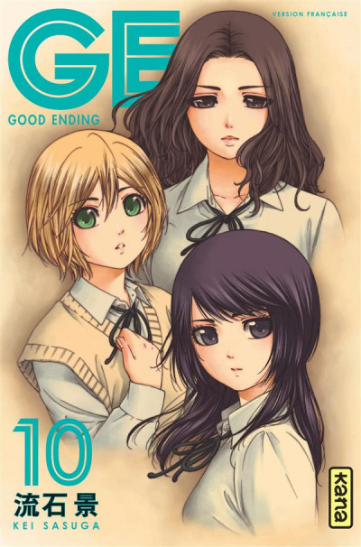 Couverture GE-good ending tome 10