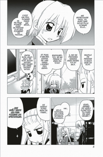 Page 8 Hayate the combat Butler tome 19