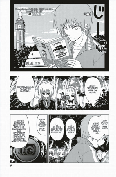 Page 9 Hayate the combat Butler tome 19