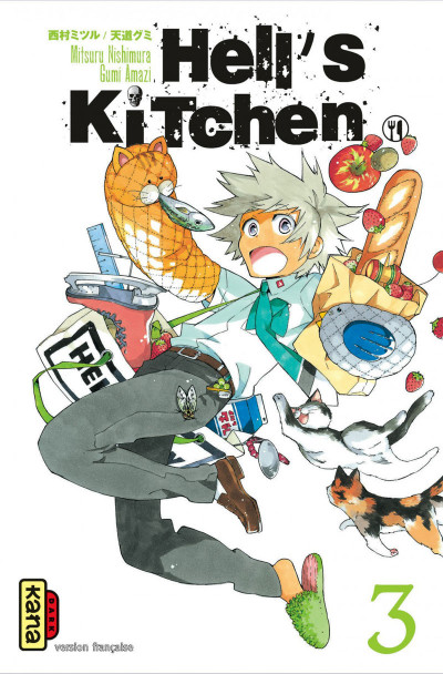Couverture hell's kitchen tome 3