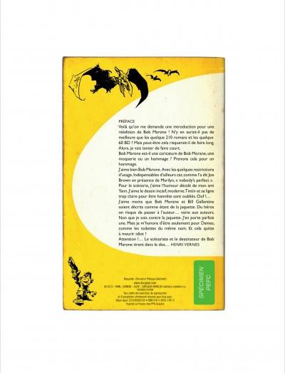 Page 1 Bob Marone tome 1 - le dinosaure blanc