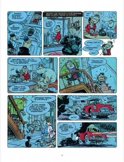 Page 3 Bob Marone tome 1 - le dinosaure blanc