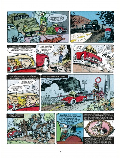 Page 4 Bob Marone tome 1 - le dinosaure blanc