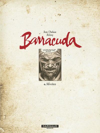 Page 3 Barracuda tome 4 - révoltes (couverture bleue)