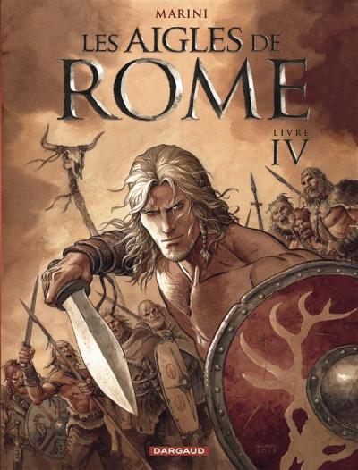 Couverture Les aigles de Rome tome 4