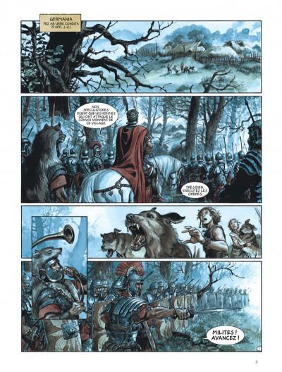 Page 3 Les aigles de Rome tome 4