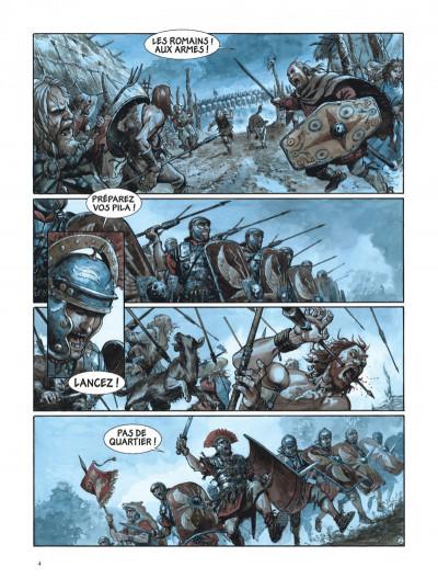 Page 4 Les aigles de Rome tome 4