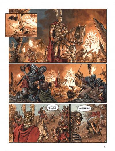 Page 5 Les aigles de Rome tome 4