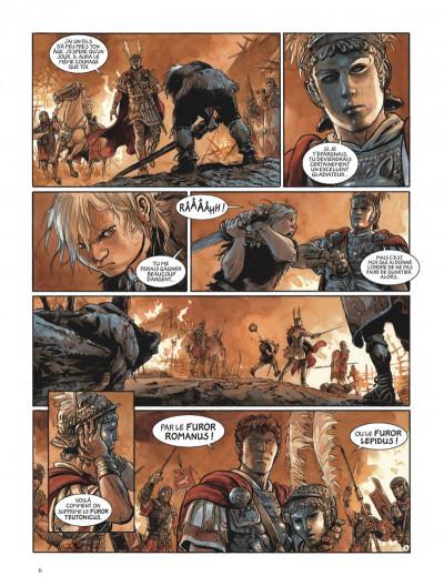 Page 6 Les aigles de Rome tome 4