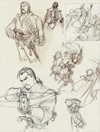 Page 3 le Scorpion - intégrale tome 1