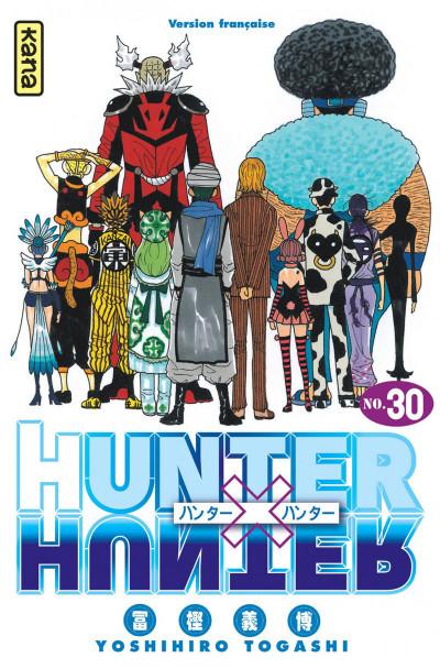 Couverture hunter x hunter tome 30