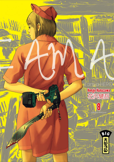 Couverture I am a hero tome 8