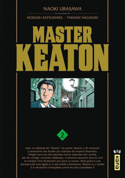 Couverture Master keaton tome 2