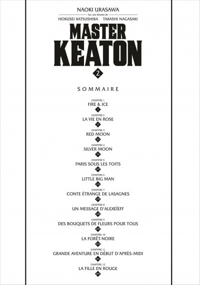 Page 2 Master keaton tome 2