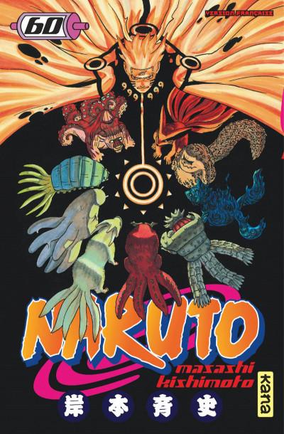 Couverture Naruto tome 60