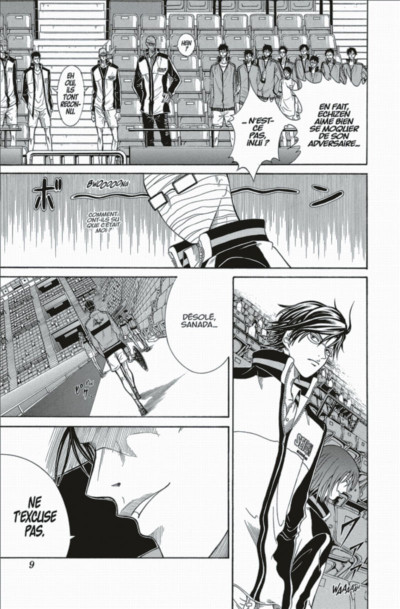 Page 9 prince du tennis tome 42