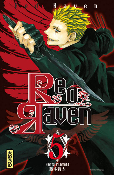 Couverture red raven tome 5