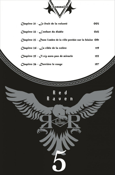 Page 2 red raven tome 5