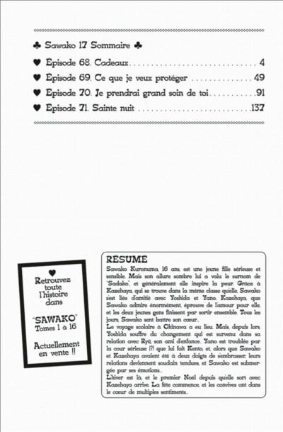 Page 2 Sawako tome 17