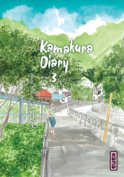 Couverture kamakura diary tome 3