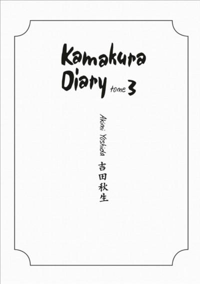 Page 3 kamakura diary tome 3