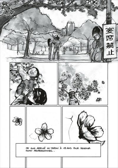 Page 6 Yokozuna tome 1