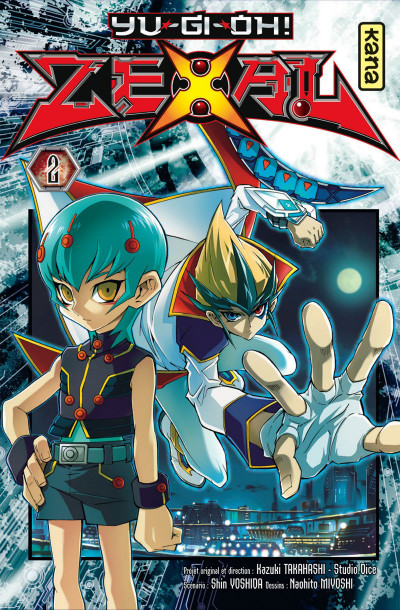 Couverture Yu-Gi-Oh ! zexal tome 2