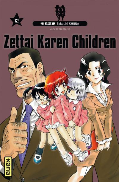Couverture zettai Karen Children tome 12