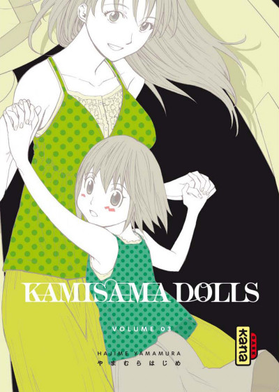 Couverture kamisama dolls tome 3