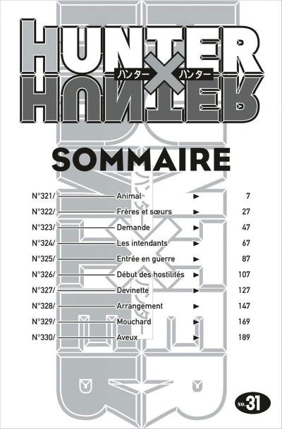 Page 6 Hunter x hunter tome 31