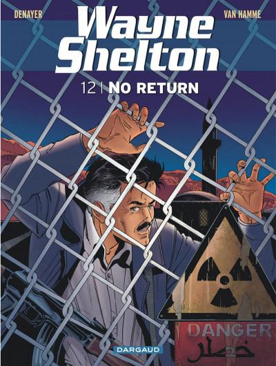 Couverture Wayne Shelton tome 12 - no return