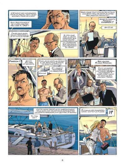 Page 9 Wayne Shelton tome 12 - no return