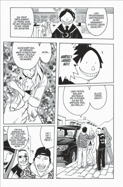 Page 9 assassination classroom tome 2