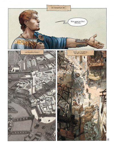 Page 1 Murena tome 9 - les épines (édition spéciale)